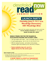 DeSoto ISD Read Now Summer Launch Party Flyer