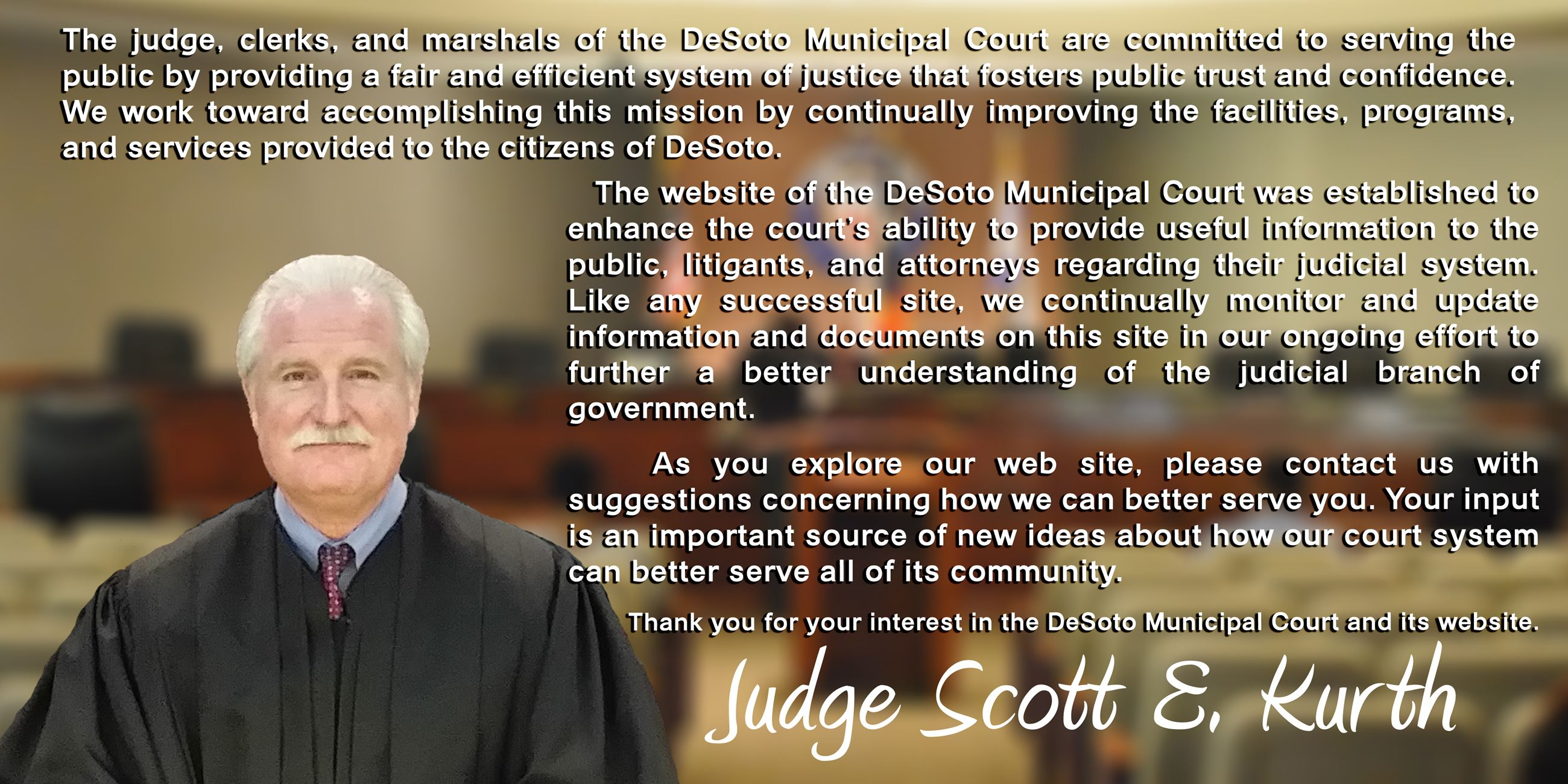 Judge Mission Statement