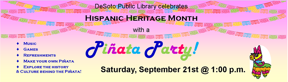 Hispanic Heritage Month--Pinata Party