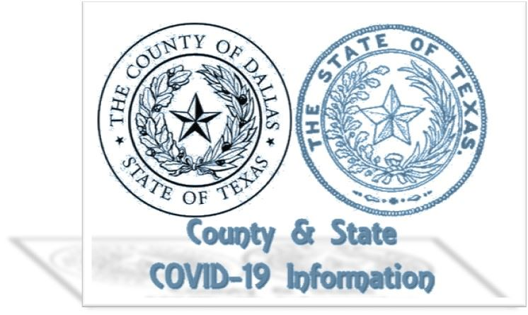 County State Seal Transparent Blue