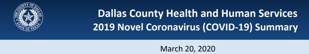 County Summary Cover March 20