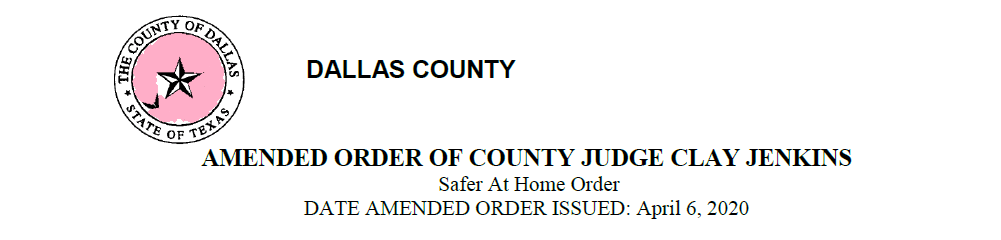 04062020 Dallas County Amended Order Header