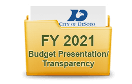 FY 2019 Budget Presentation Transparency
